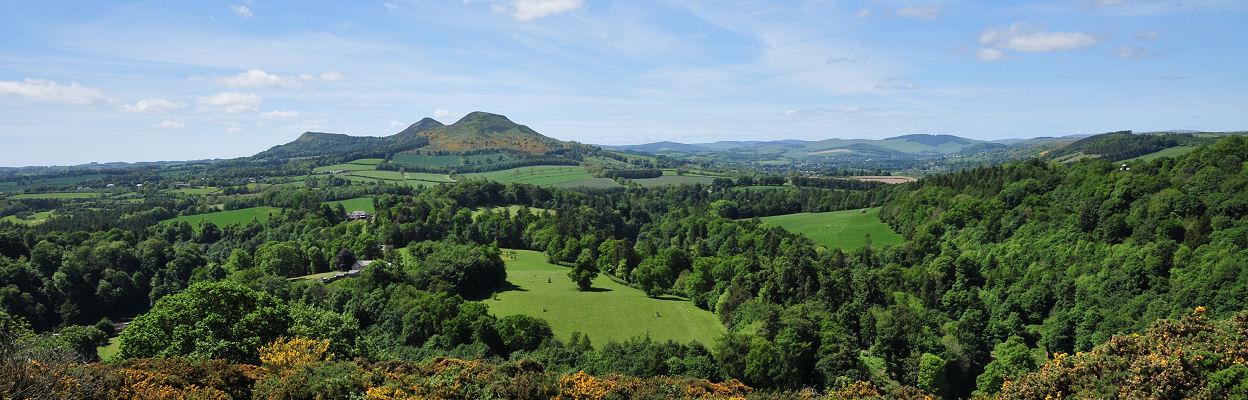 View Over the Scottish Borders